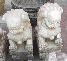 fu dogs for sale asian decor marble large fu dog lions