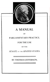 jefferson u0027s manual 1801 a manual of parliamentary practice thomas j u2026