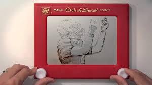 johnny manziel etch a sketch youtube
