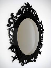 Pictures For Bathroom Wall Decor by Bathroom Astounding Baroque Mirror With Unique Frame For Bathroom
