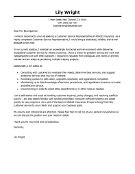 customer service representative cover letter sample things to do