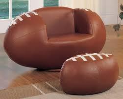 baseball chair and ottoman set football swivel chair and ottoman set