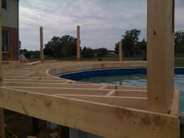 pool deck 1200 square feet construction picture post
