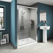 1200mm Shower Door by Luxury 8mm Sliding Shower Door Offer Pack Victoriaplum Com