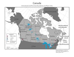 map of the provinces of canada blank map of canada provinces and capitals major within