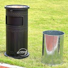 outdoor decorative trash cans home decor 2017