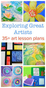 683 best kids art from famous artists images on pinterest