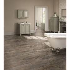 1 08 sq ft trafficmaster ceramica 12 in x 24 in coastal grey