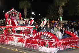 christmas light parade u0026 tree lighting retire to charleston sc