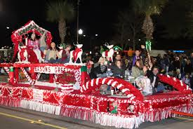 christmas light parade floats christmas light parade tree lighting retire to charleston sc