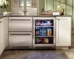 kitchen modern undercounter kitchen refrigerator kitchen