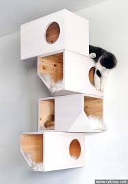 Shelves For Cats by Catissa 4 Storey Cat House Catissa We Create Cool Stuff For