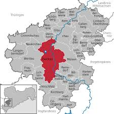 Map Of Germany With Cities And Towns In English by Zwickau Wikipedia