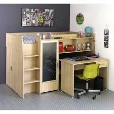 lit surélevé avec bureau lit mezzanine mistergooddeal promo lit achat jacko lit mezzanine