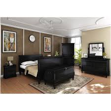 furniture chateau fontaine 4 piece sleigh bedroom set in