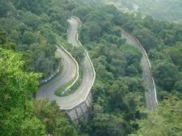 Rock Garden Darjeeling Road To Rock Garden Darjeeling India