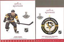 pittsburgh penguins stanley cup chion ornament 2017
