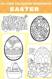 10 free easter colouring resources for kids romanian mum blog