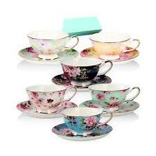 tea cup and saucer sets ebay