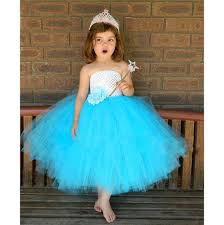 aliexpress com buy aqua blue tutu dress white and blue kids