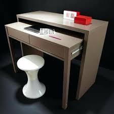 bureau profondeur 40 cm bureau profondeur 40 cm bureau console 2 tiroirs gris bureau