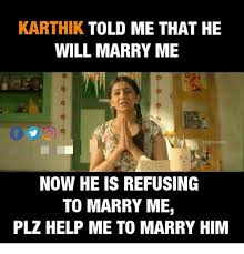 Studio Memes - karthik told me that he will marry me lux studio 2 now he is