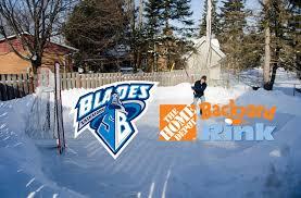 home depot backyard rink contest enter now u2013 saskatoon blades