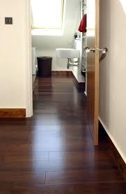 oak floor bathroom