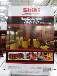discount restaurant gift cards shiki restaurants discount gift card