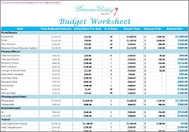 wedding budget template make wedding budget worksheet list all things want diy wedding