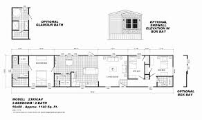 Floor Plans For Manufactured Homes Elegant Mobile Home Floor Plans