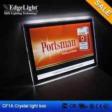 house number light box edgelight cf1a magic mirror crystal sensor led lighting box colored