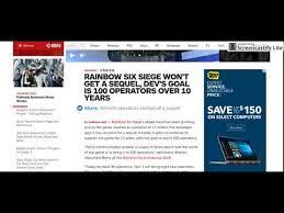 siege andre rainbow six siege dev s goal is 100 operators 10 years