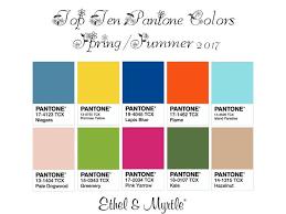 pantone spring summer 2017 12 best top 10 pantones spring summer 2017 images on pinterest