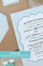 Affordable Wedding Invitations With Response Cards Wedding Invitations On A Budget Semi Diy Wedding Invites The