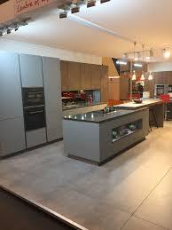 ex display kitchen island rotpunkt german kitchen ex display handle less units island
