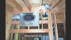 basement simple return air duct in basement room design decor
