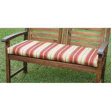 Patio Bench Cushion by 42 Inch 2 Seater Bench Cushion With Mix Pattern Cover Dcg Stores