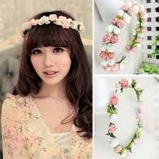 flower hair band 2015 hot sale new fashion women bohemia flower hair bands