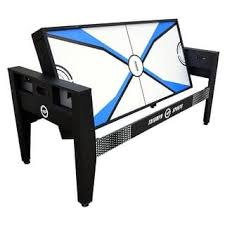 4 in one game table air hockey tables for less overstock com