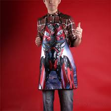 aprons transformers dino kitchen apron movie characters novetly