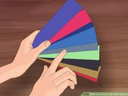 How To Match Car Paint Without Code 3 Ways To Choose Car Paint Colors Wikihow