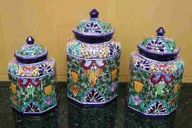 pottery kitchen canisters wide selection of talavera pottery direct from mexico