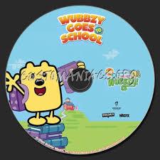 wow wow wubbzy wubbzy dvd label dvd covers