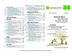 fortune garden menu round rock dineries