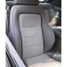 fox mustang seats mustang cloth seat upholstery charcoal grey 1984 svo 43 75524