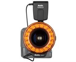 meike fc 110 led light macro ring flash for canon nikon pentax
