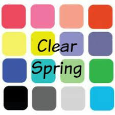 spring color so what is a clear spring