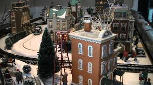 department 56 in the city display 03