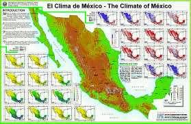 Map Of Northern Mexico by The Climate Of Mexico